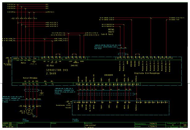 Einsatz moderner CAD/CAE-Systeme wie EPlan 5.70, WSCAD oder Eplan Electric
